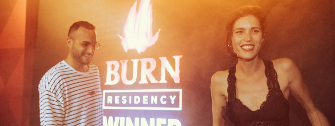 BURN RESIDENCY 2019 WINNER